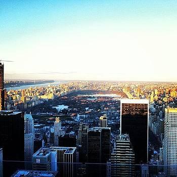 #topoftherock #30rock #nyc #centralpark by Matthew Tarro