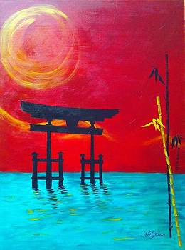 Torii Shinto Shrine  by Maureen Ghetia