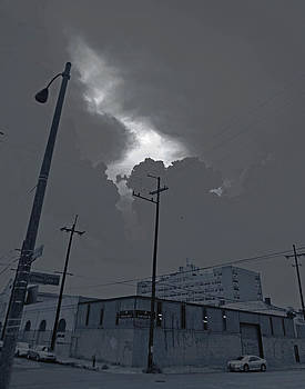 Torn Sky in New Orleans by Louis Maistros