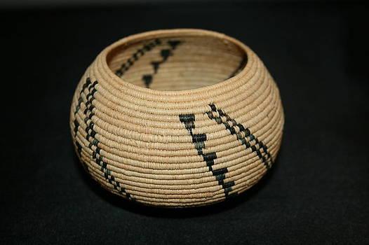Tornados and Ants Coil Bowl Basket #1027 by Darlene Ryer