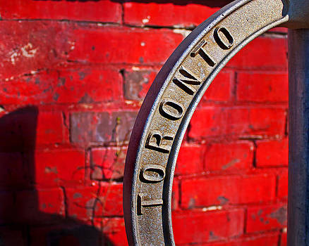 Toronto Bicycle Ring by Brian Carson