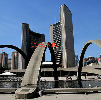 Ian  MacDonald - Toronto City Hall Poster