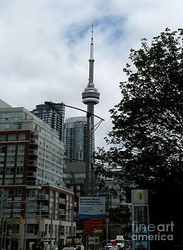Toronto CN Tower July 2014 by Ausra Huntington nee Paulauskaite