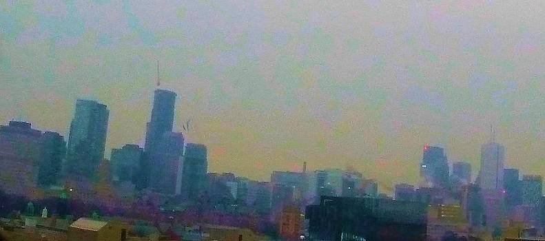 Toronto Skyline 15 by Adam Cohoon