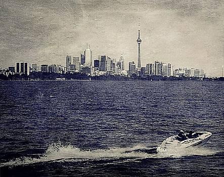 Toronto Skyline by Amanda Struz