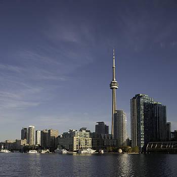 Toronto Skyline by Kim Aston