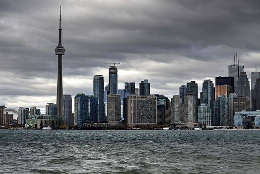 Toronto Skyline by Nicky Jameson