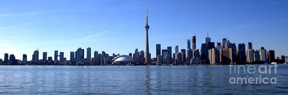 Toronto Skyline Panorama by Jale Fancey