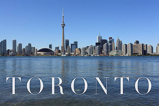 Toronto skyline by Ron Sumners