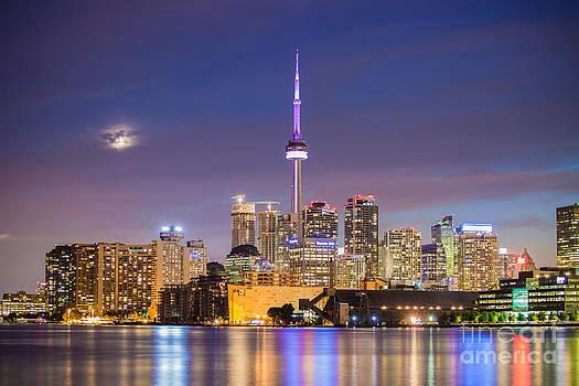 Toronto Skyline by India Blue photos