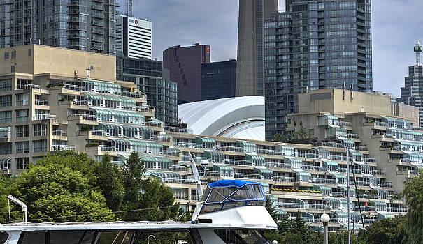 Toronto Waterfront Skyline by Nicky Jameson