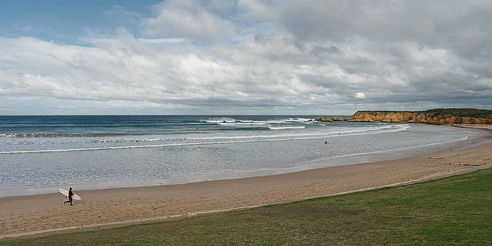 Torquay beach panorama by View Factor Images