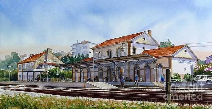 Torres Verdras train station by Antonio Bartolo