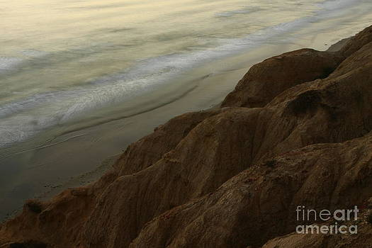 Torrey Pines Waves by John F Tsumas