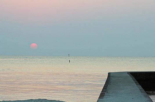 Tortugas Sunset by Bob Richter
