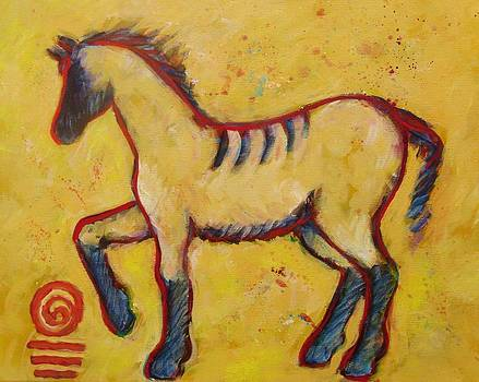 Totem Horse by Carol Suzanne Niebuhr