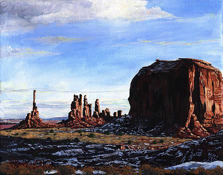 Totem Pfosten by Timithy L Gordon