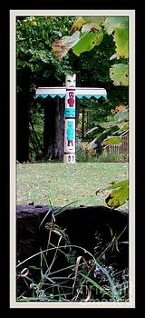 Gail Matthews - Totem Pole in the Woods