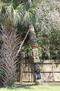 Totem Pole by Paula Rountree Bischoff