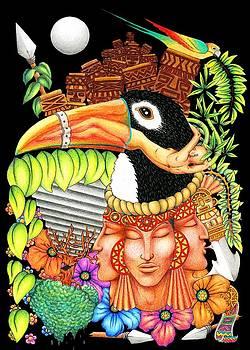 Toucan Fantasy Art Design by BluedarkArt Lem