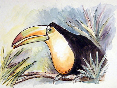 Toucan by Julie Lemons