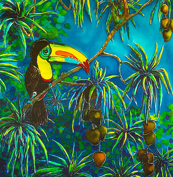 Toucan Tango for Mango Take 2 by Kelly ZumBerge