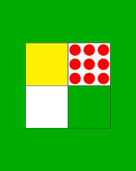Tour De France Jerseys 1 Green by Brian Carson