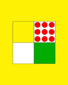 Tour De France Jerseys 1 Yellow by Brian Carson