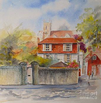 Towards Marine walk street Hythe by Beatrice Cloake