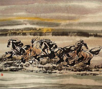 Towards the west by Richard Xiaochuan Li