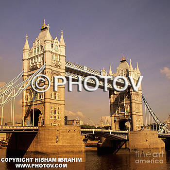 Tower Bridge and the Thames at sunset - London - England by Hisham Ibrahim