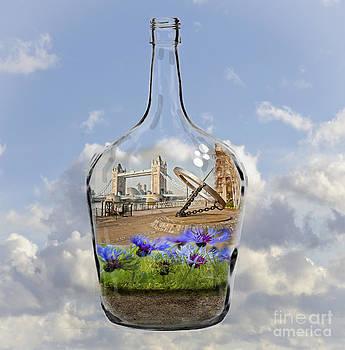 Tower Bridge Bottled by Donald Davis