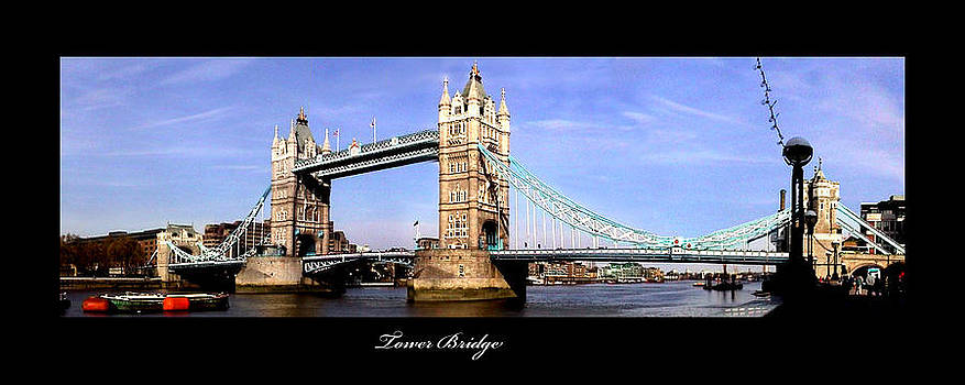Tower Bridge London England by Richard Erickson