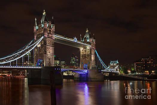 Tower Bridge On Ice by Pete Reynolds