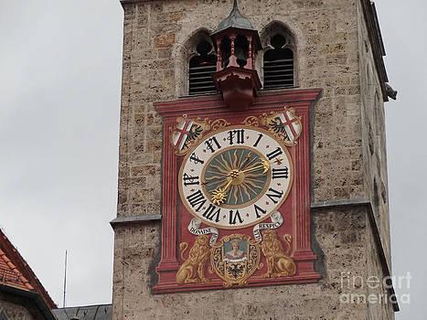 Tower clock by Evgeny Pisarev