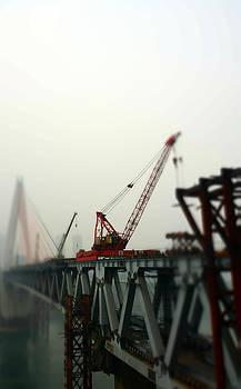 Tower Crane by Qiana Pang