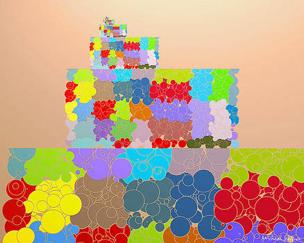 Tower of Bubble... The Grapes of Math... Layer Cake 3 by Michael Sussna