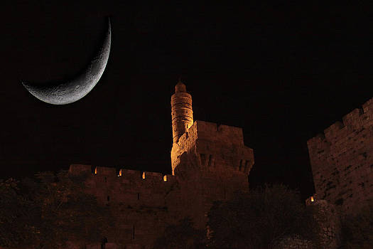 Tower of David by Tal Richter