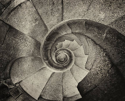 Tower Stairs by Jack Daulton