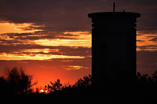 Bill Swartwout Fine Art Photography - FCT1 Tower Sunrise on Fenwick Island
