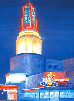 Tower Theater in Sacramento by Virginia White