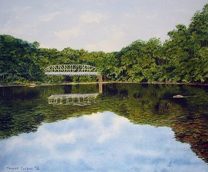 Town Bridge by Sharon Farber