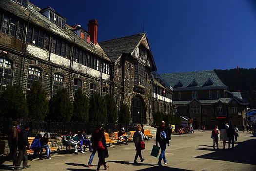 Town hall Shimla by Salman Ravish