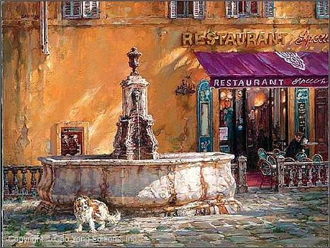 Town Square Tuscany by Cao Yong