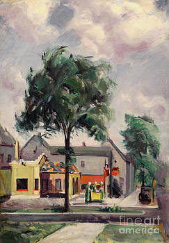 Art By Tolpo Collection - Town Street 1939
