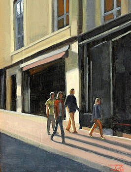 Town stroll by Tate Hamilton