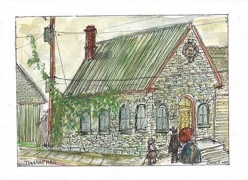 Township Hall by David Dossett
