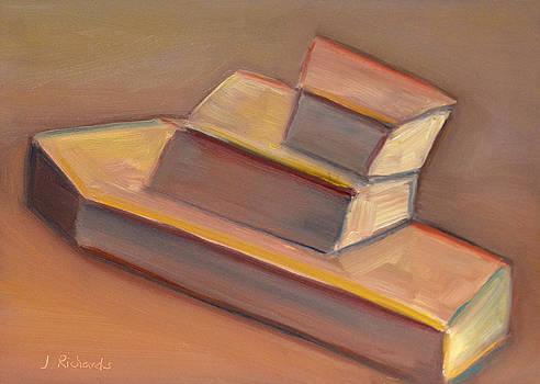 Toy boat by Jennifer Richards