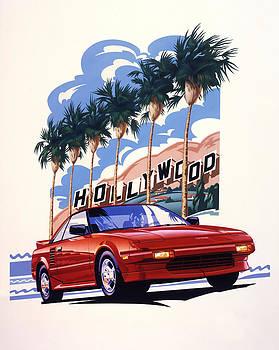 Garth Glazier - Toyota MR2 Hollywood Hills