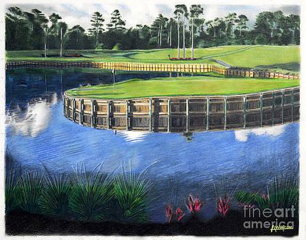 TPC Golf Hole by Alan Wolfram
